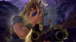 Terra Fights Terra-Xehanort
