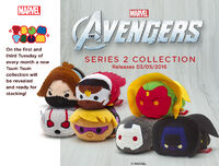 The Avengers Tsum Tsum Tuesday Series 2 (UK)