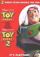 Toy story & toy story 2 uk dvd