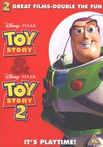 Toy story & toy story 2 uk dvd