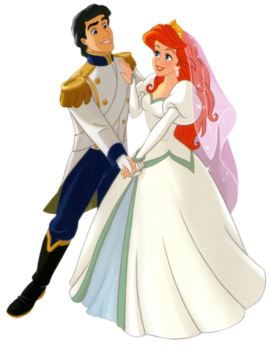 ariel and eric. Ariel and Eric redesign png Image  Disney Wiki FANDOM powered