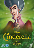 Cinderella Disney Villains 2014 UK DVD