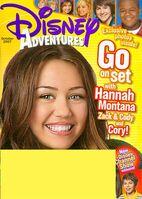 Disney adventures october 2007