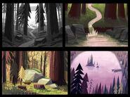 Gravity Falls Concept Art 1