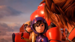 KHIII Sora with Hiro, Go Go, and Baymax
