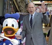 Michael Eisner and Donald