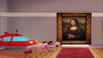 Mona Lisa Little Einsteins