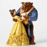 Moonlight Waltz-25th Anniversary Belle and Beast Dancing Figurine
