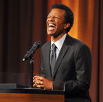 Phil LaMarr speaks at TMA Heller Awards