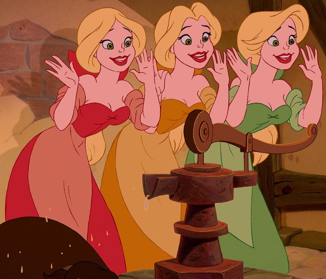 The Bimbettes | Disney Wiki | FANDOM powered by Wikia