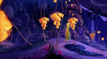 Rapunzel looking at the Lorbs Lanterns from Corona