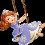 Sofia on swing