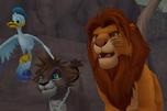 SoraSimba&Donald KH2