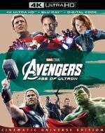 Avengers Age of Ultron 4K Blu-Ray