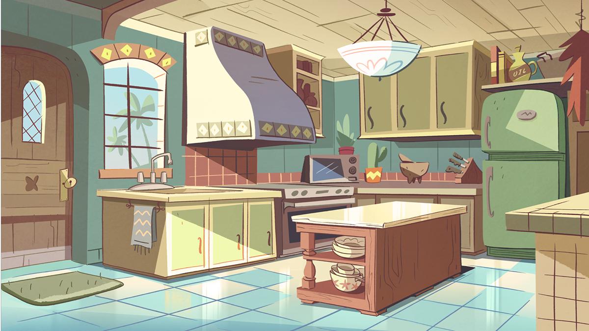 Image Diaz House Kitchen Png Disney Wiki Fandom