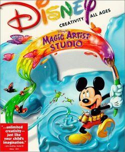 Disney's Magic Artist Studio front