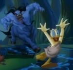 Donald huye Nesso