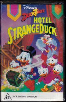 DuckTales Hotel Strangeduck 1989 AUS VHS
