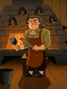 Franklin Barkin Blacksmith