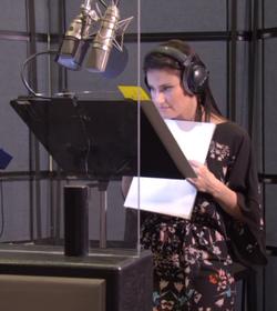 Idina Menzel Frozen Voice Recording