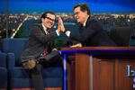 John Leguizamo visits Stephen Colbert