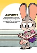Judy Hopps comic profile