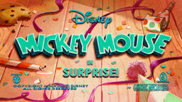 Mickey Mouse Surprise! title card