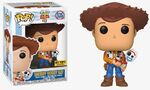 Sheriff Woody Holding Forky POP