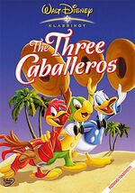 The Three Caballeros Finland DVD