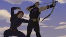 Widow and Hawkeye AA 01