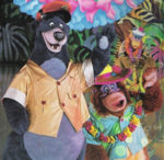 Baloo&Louie TaleSpin parque