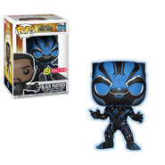 Black Panther Movie Blue GITD POP
