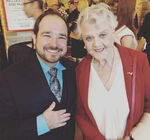 Bradley Pierce and Angela Lansbury 2018