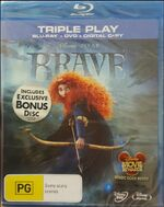 Brave 2012 AUS Blu-Ray + DVD + Digital