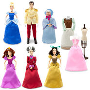 Cinderella 2012 Disney Store Doll Set