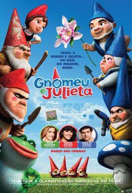 Gnomeu e Julieta - Pôster Nacional