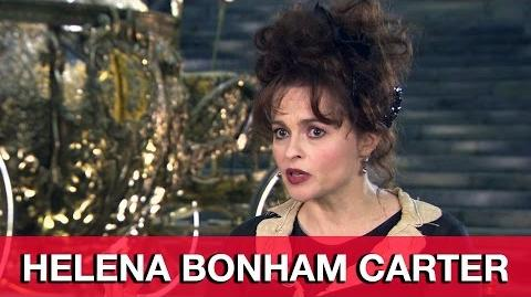 Helena Bonham Carter Cinderella Interview
