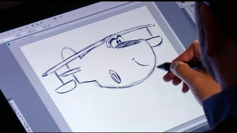 How to Draw Dipper - Planes Fire & Rescue