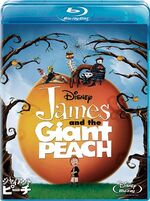 James and the Giant Peach 2011 Japan Blu-Ray