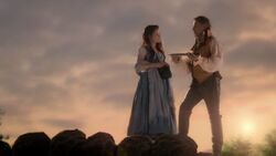 Once Upon a Time - 7x04 - Beauty - Belle and Gold 2