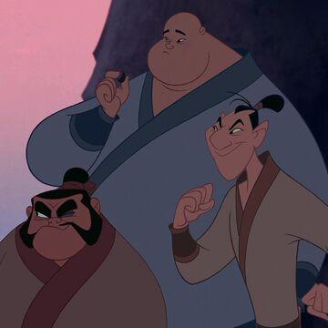 Yao Ling And Chien Po Disney Wiki Fandom