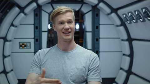 "SOLO Behind The Scenes ""Chewbacca"" Joonas Suotamo Interview - A Star Wars Story"