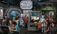 Shanghai Disneyland Star Wars Launch Bay