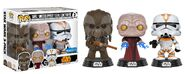 Star wars tarful emperor utapau walmart funko pop 3pack