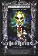 The Haunted Mansion Poster - The Ghost Butler