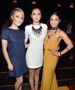 Tina Majorino Alyson Stoner & Vanessa Hudgens at Industry Dance Awards & Cancer Benefit