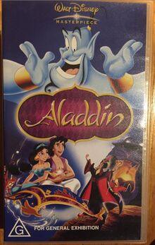 Aladdin 2004 AUS VHS