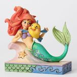 Fun and Friends-Ariel with Flounder Figurine