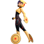 GoGo Suit back Render