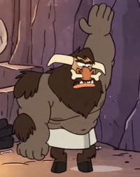 Gravityfalls Pituitaur sniffing his pits